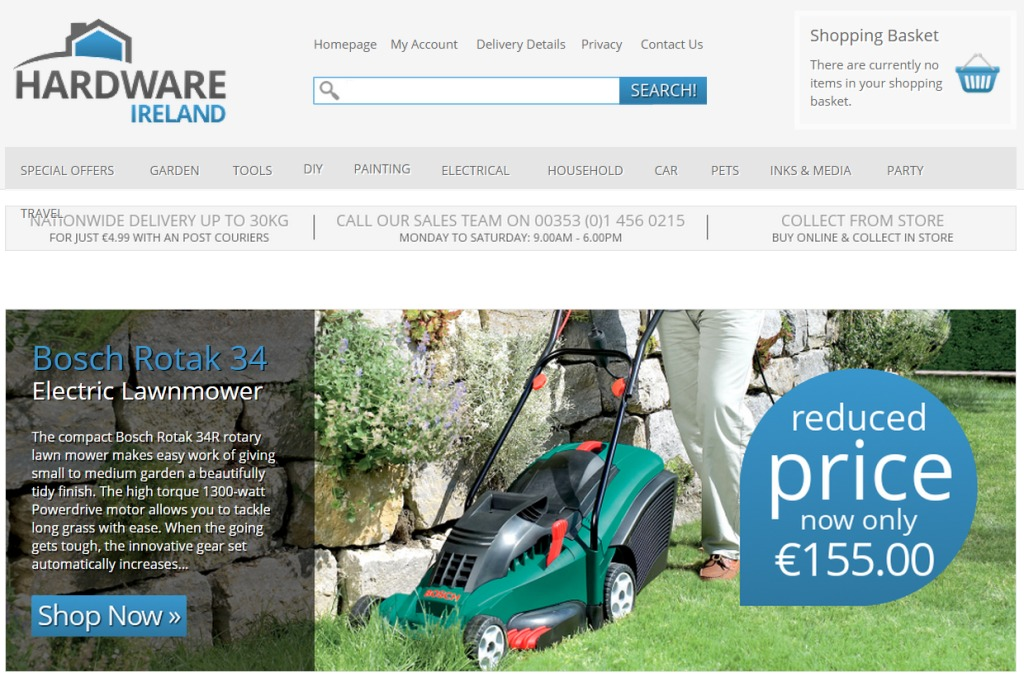SellingOnlineToday podcast with Hardware Ireland hardwareireland.ie