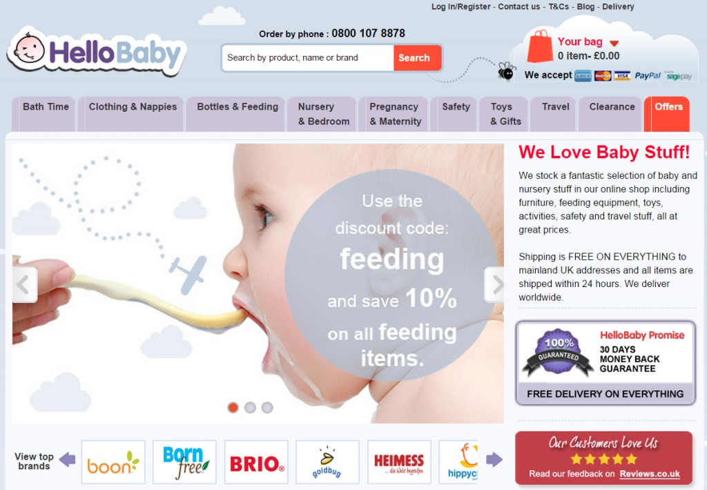 SellingOnlineToday podcast with hellobabydirect hellobabydirect.co.uk